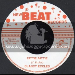 """New Beat Records-7""""-Fattie Fattie / Clancy Eccles"""