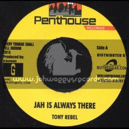 """Penthouse Records-7""""-Jah Is Always There / Tony Rebel + Youths Dem So Violent / Exco Levi"""