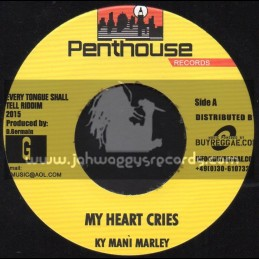 "Penthouse Records-7""-My Heart In Crisis / Ky Mani Marley + I m Numb / Dalton Harris"