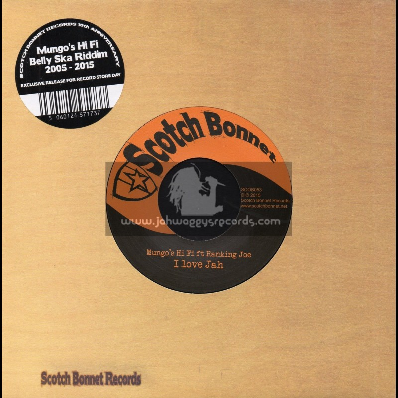 "Scotch Bonnet-7""-I Love Jah / Ranking Joe + Divorce A L italienne / Marina P"