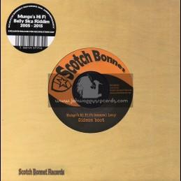 "Scotch Bonnet-7""-Gideon Boot / General Levy"