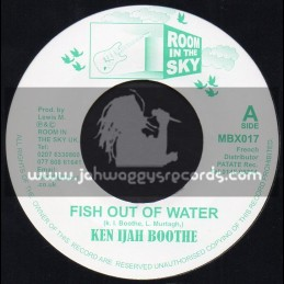 """Room In The Sky-7""""-Fish Out Of Water / Ken Ijah Booth + Take Us To Your Place / Marcia Green"""