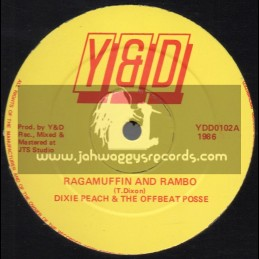 "Y & D-12""-Ragamuffin And Rambo / Dixie Peach & The Offbeat Posse"