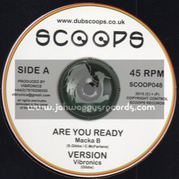 """Scoops-10""""-Are You Ready / Macka B + Jah Jahs House / Nia Songbird"""