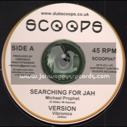"Scoops-10""-Searching For Jah / Michael Prophet + Tribulation / Danman"