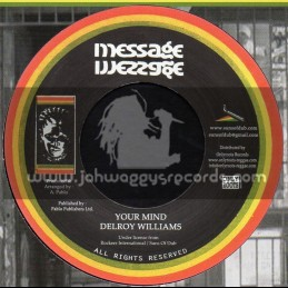 "Message-7""-Your Mind / Delroy Williams - Augustus Pablo"