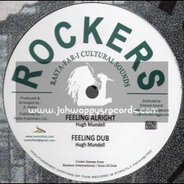 "Rockers International-12""-Israel In Harmony / Augustus Pablo + Feeling Alright / Hugh Mundell"