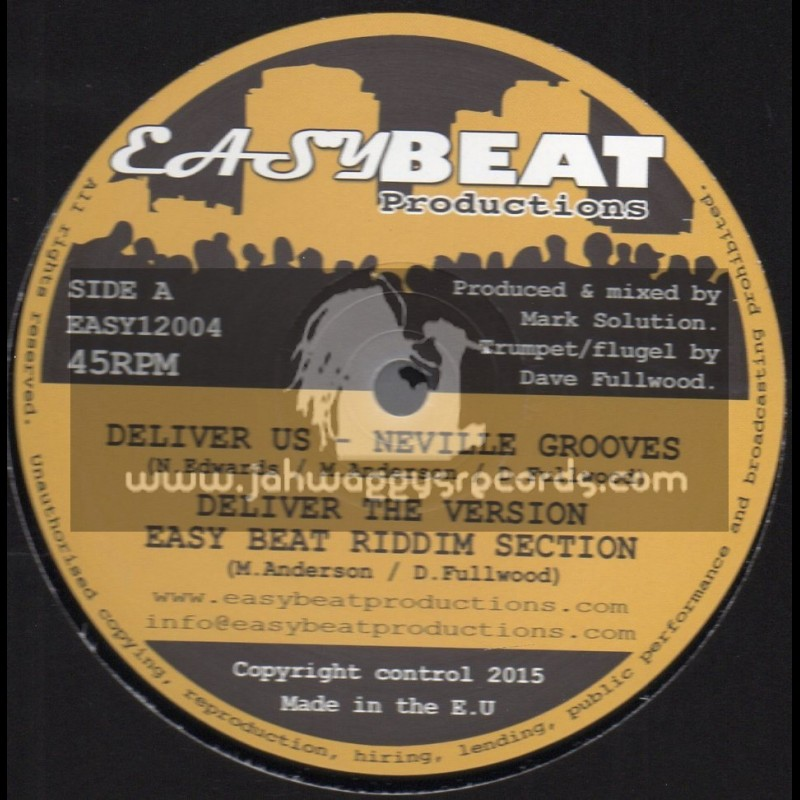 """Easy Beat Productions-12""""-Deliver Us / Neville Grooves"""