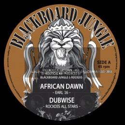 "Blackboard Jungle-12""-African Dawn / Earl Sixteen + Back Way / Murray Man"