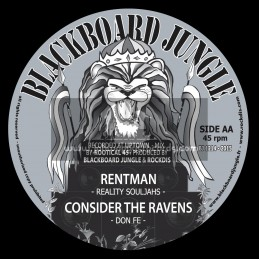 "Blackboard Jungle-12""-Fight Against The Wicked / Irie Soujah + Rent Man / Reality Souljahs"