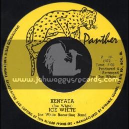 """Panther-7""""-Kenyata / Joe White Recording Band"""