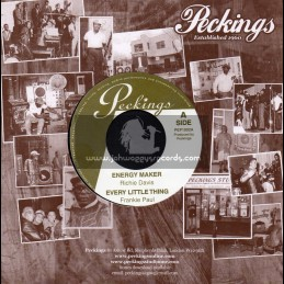 """Peckings-7""""-Energy Maker/Richie Davis+Every Little Thing/Frankie Paul+Soul Love/Peter Hunningale+Mama Used To Say/Peter Spence"""
