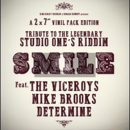 """Reggae Remedy-Double-7""""-Smile Feat. The Viceroys, Mike Brooks & Determine"""