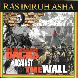 House Of Asha-Lp-Back Against The Wall / Ras Imruh Asha