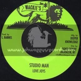 "Wackies-7""-Studio Man / Love Joys"