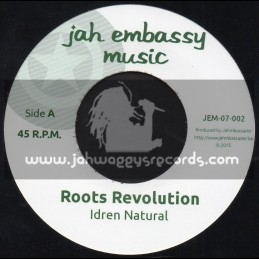 "Jah Embassy Music-7""-Roots Revolution / Idren Natural"