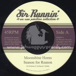 "Sir Runnin Records-7""-Season For Reason / Moonshine Horns"