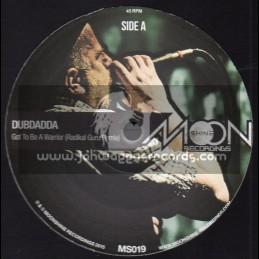 "Moonshine Recordings-10""-Got To Be A Warrior / Dubdadda-Radikal Guru Remix + Give Dub / Dubdadda - Zion Train Remix"