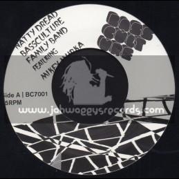 """Bass Culture-7""""-Natty Dread / Bass Culture Band Featuring Mikey Murka"""