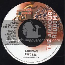"Maximum Sound-7""-Yardman / Exco Levi + Jah Armour / Mr Williams - The Armour Riddim"