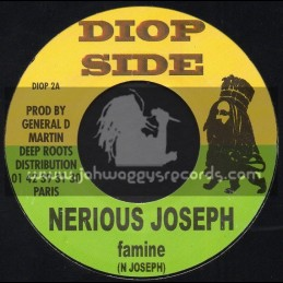 "Diop Side-7""-Famine / Nerious Joseph + Dis Leurs / Little Danny"