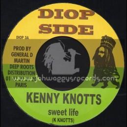"Diop Side-7""-Sweet Life / Kenny Knotts + My Wife / Lyricson"