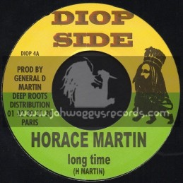 """Diop Side-7""""-Long Time / Horace Martin + Give Thanks / General D"""
