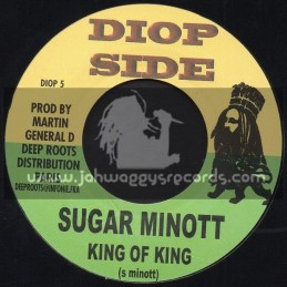 "Diop Side-7""-King Of King / Sugar Minott"