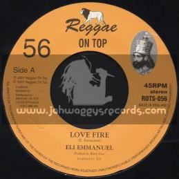 "Reggae On Top-7""-Love Fire / Eli Emmanuel"