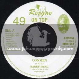"Reggae On Top-7""-Conmen / Barry Issac"