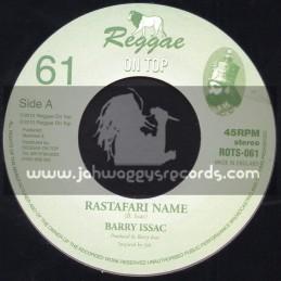 """Reggae On Top-7""""-Rastafari Name / Barry Issac"""