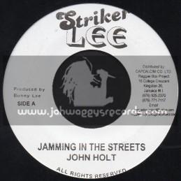 "Striker Lee-7""-Jamming In The Streets / John Holt"