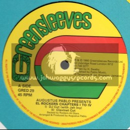 "Greensleeves-12""-Augustus Pablo Presents El Rockers Chapters I To IV"
