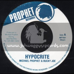 "Prophet Records-7""-Hypocrite / Michael Prophet And Bucky Joe"
