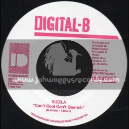 """Digital B-7""""-Cant Cool Cant Quench / Sizzla + Mockries And Phrase / Sizzla"""
