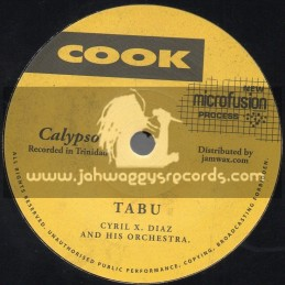 "Cook-7""-Tabu / Cyril X. Diaz And His Orchestra + Serenal / Cyril X. Diaz And His Orchestra"