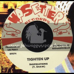 """Upsetter Records-7""""-Tighten Up / Inspirations + Cane River Rock / King Scratch"""