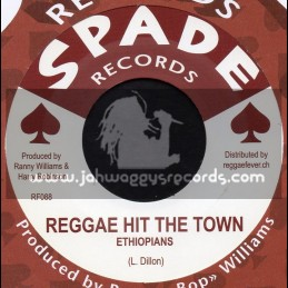 "Spade Records-7""-Reggae Hit The Town / Ethiopians + This Life Makes Me Wonder / Deroy Wilson"