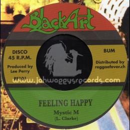 "Black Art-7""-Feeling Happy / Mystic M - Upsetters"