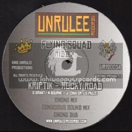 "Unrulee Records-12""-Rocky Road / Kriptik + Dont Trust Dem - Melloquence - Flying Squad Riddim"