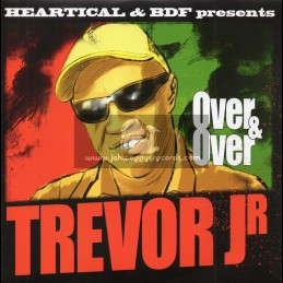 """Heartical Records-7""""-Over And Over / Trevor Junior + Holy Mount Zion / Colour Red"""