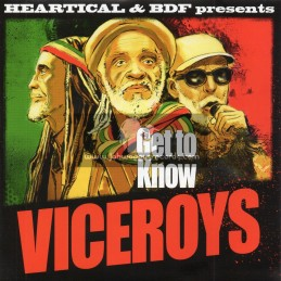 "Heartical Records-7""-Get To Know / The Viceroys + Assulting Dub / BDF And Jamtone"