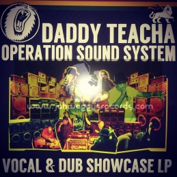 Operation Records-Lp-Operation Sound System - Vocal And Dubwise Showcase / Daddy Teacha