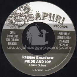 "Sisapiiri Records-7""-Pride And Joy / Reggae Broadcast"