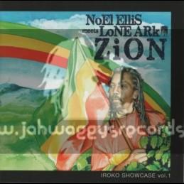Iroko-Lp-Noel Ellis Meets Lone Ark - Zion - Showcase Volume 1