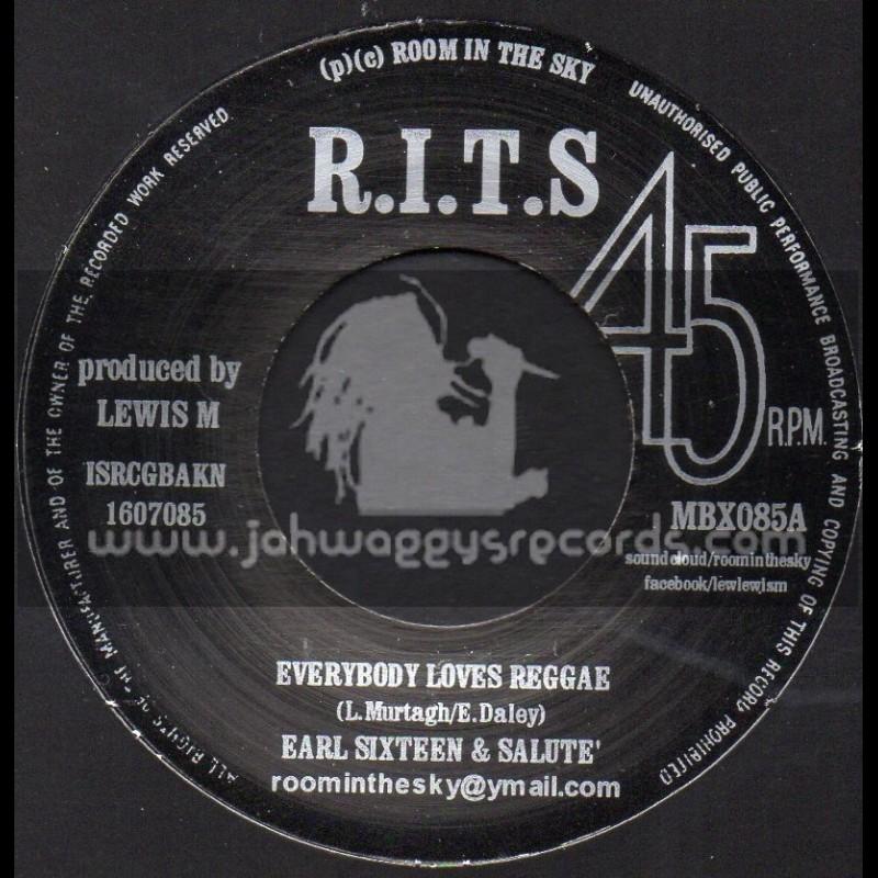 "R.I.T.S-7""-Everybody Loves Reggae / Earl Sixteen & Salute"