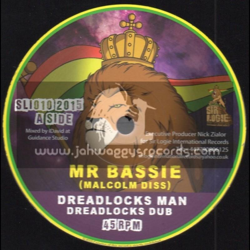 "Sir Logie International Records-10""-Dreadlocks Man / Mr Bassie"