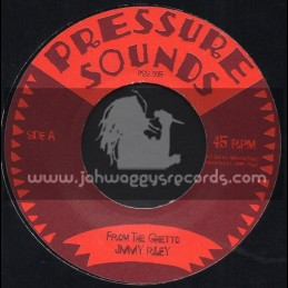 "Pressure Sounds-7""-From The Ghetto / Jimmy Riley"