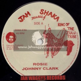 "JAH SHAKA MUSIC-12""-ROSIE / JOHNNY CLARK"