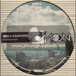 "Moonshine Recordings-12""-Rooftop Stepper + Basement Stepper + Space Station Stepper / Digid & Squarewave"